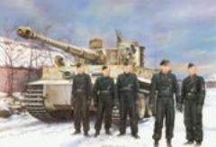Tiger I Wittmann's Command Tiger - Early Production