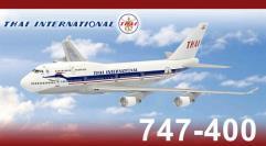 Thai International B747-400 HS-TGP (50th Anniversary Edition)
