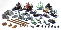 Dreadfleet w/Painted Figures