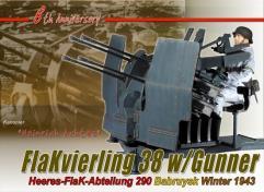 Heinrich Achtese 8th Anniversary Figure - Flakvierling 38 w/Gunner