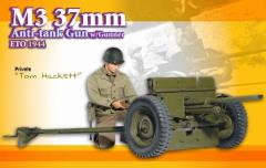 Tom Hackett (Private) w/M3 37mm Anti-Tank Gun