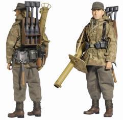Ludwig Braus (Grenadier) - WH Anti-tank Gunner w/Panzerschreck RPzB 54/1, 257.Volksgrenadier-Division