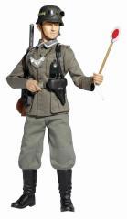 Bruno Schott (Unterfeldwebel) - West Wall Feldfendarme, FG Trupp 82 (MOT), 1.Panzer-Division