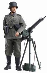 Ernst Kunkel (Sturmmann) - Totenkopf Heavy Machine Gunner, Regiment 1