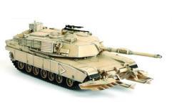 M1A1HA Abrams Main Battle Tank w/Mine Plough - 1st Platoon, B Company, Mojave Desert 1996
