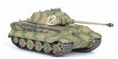 King Tiger Ausf.A Heavy Tank w/Porsche Turret - 1.sPzKp (Fkl) Panzer Lehr Regiment 130, Kaisersteinbruch, 1944