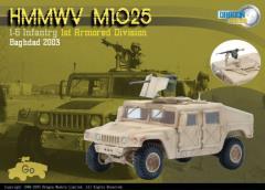 HMMWV M1025 - 1-6 Infantry, 1st Armored Division, Baghdad 2003