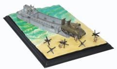 LCM(3) Landing Craft & M4A1 w/Deep Wading Kit