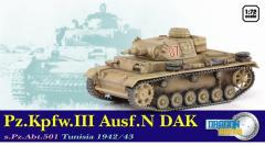 Pz.Kpfw.III Ausf.N DAK, s.Pz.Abt.501 - Tunisia 1942/43