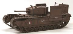 """Churchill Mk.III """"Fitted for Wading"""" - 14th Canadian Army"""