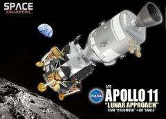 "Apollo 11 ""Lunar Approach,"" Command & Service Module ""Columbia"" & Lunar Module ""Eagle"" (1/72)"