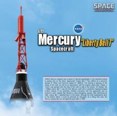 "Mercury ""Liberty Bell 7"" Spacecraft (1/72)"