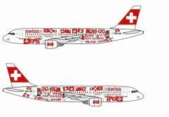 """Swiss A320 """"Hopp Schwiiz! Hop Suisse!"""" - HB-IJM"""