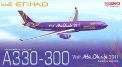 "Etihad Airways A330-300 - A6-AFA ""Visit Abu Dhabi 2011"""
