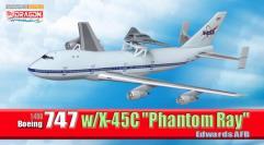 "Boeing 747 z/X-45C ""Phantom Ray,"" Edwards AFB"