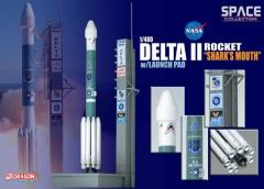 "Delta II Rocket USAF ""GPS-IIR-16"" - ""Shark's Mouth"" (1/400)"