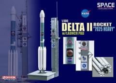 "Delta II Rocket ""7925 Heavy"" w/Launch Pad - Mars Exploration Rover B ""Opportunity"" (1/400)"