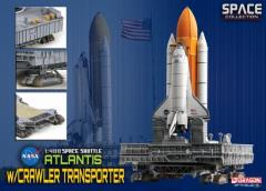 "Space Shuttle ""Atlantis"" w/Crawler Transporter (1/400)"