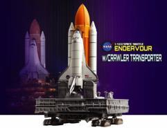 "Space Shuttle ""Endeavour"" w/Crawler Transporter (1/400)"
