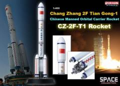 CZ-2F-T1 Rocket (Chang Zheng2F) TianGong-1 Chinese Manned Orbital Carrier Rocket (1/400)