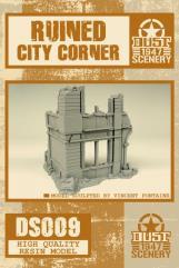 Ruined City Building Corner