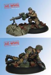 Wehrmacht MG42 Team
