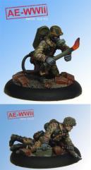 Wehrmacht Flamenwerfer Team