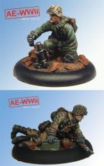 Wehrmacht Granatenwerfer Team