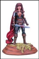Red Cloak Female Fighter