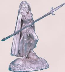 Female Dark Elf w/Pike