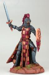 Male Knight w/Sword & Shield