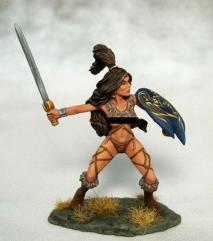 Amazon Warrior w/Sword and Shield