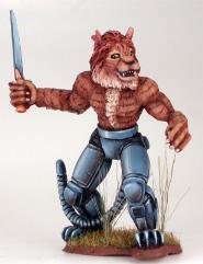 Cat Warrior w/Dagger