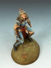 Crouching Female Warrior