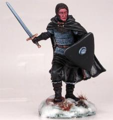 Night's Watch - Warrior w/Weapon and Shield Choices