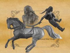 Khal Drogo - Mounted