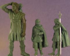 Hodor, Bran, Jojen & Meera w/Bonus Diorama Base