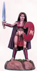 Female Warrior w/Sword