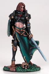 Female Cavalier w/Sword & Shield