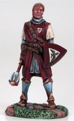 Young Male Cleric w/Mace