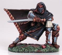 Crouching Male Assassin