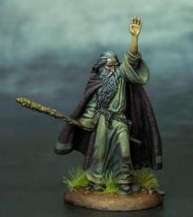 Ancient Male Wizard w/Staff