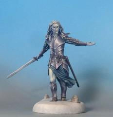 Male Elven Warrior w/Long Sword