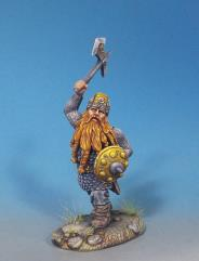 Male Dwarven Warrior w/Battle axe