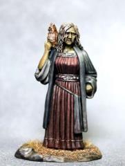 Female Witch - Old Crone w/Owl