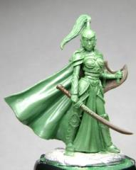 Female High Elf Warrior w/Sword & Shield