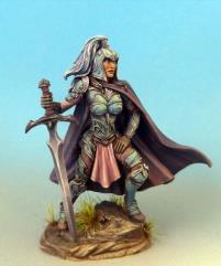 Female Warrior w/Two Handed Sword