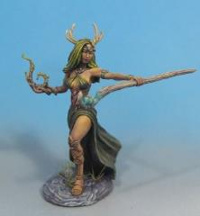 Female Druid w/Staff