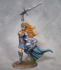 Female Warrior w/Sword & Shield