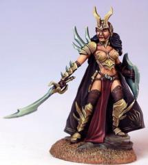 Female Anti-Paladin w/Sword & Shield (Limited/Special Edition)